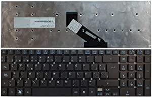 Laptop Replacement Keyboard Fit Acer Aspire E1-510 E1-522 E1-530 E1-570 E1-572 E1-771 Spanish Layout