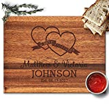 Froolu Love Forever cheese cutting board for Brother & Sister in law First Anniversary Gifts