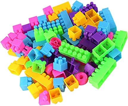 Buy Anbau Colorful Plastic Building Blocks Kids Puzzle Toy Pack of 250 Online at Low Prices in India - Amazon.in
