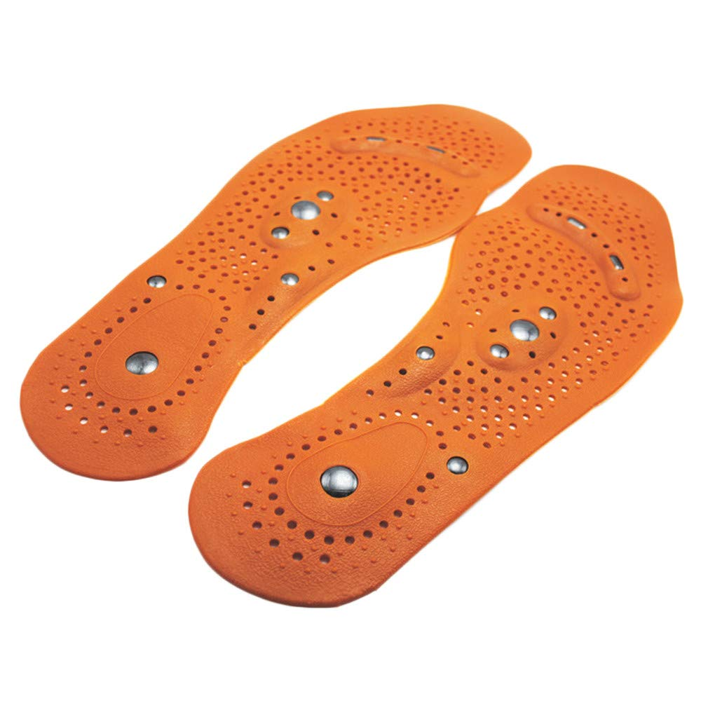 The Black Friday, Memory Cotton Magnetic Massage Leisure Shoe Insoles Gel Pad Therapy Acupressure