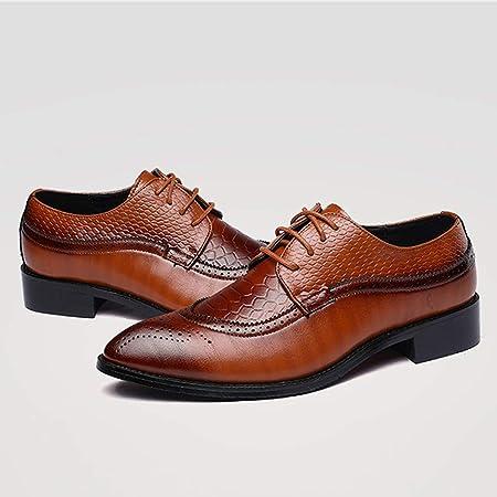 Vaycally Zapato formal para hombre Zapatos de cordones ...