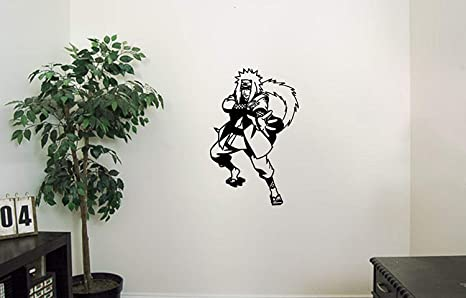 jiraiya vinyl wall decals the legendary sannin perverted hermit