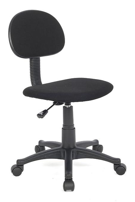 14 opinioni per SixBros. Sedia ufficio sedia girevole nera- H-235F/black/1326
