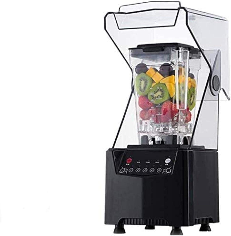 WNN-URG Crucero de la licuadora de hielo, mezclador de alimentos de cocina 2200W, alta potencia doméstica y licuadora comercial con alta velocidad, temporizador incorporado, fabricante de smoothie 220