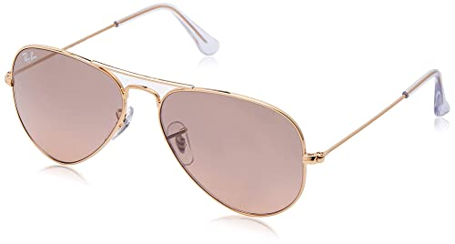 Amazon.com: Ray-Ban RB3025 Aviator - lentes de sol, Dorado ...