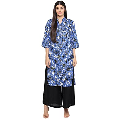 3af892fa9d3d2 Ayaany Women s Straight Kurta  Amazon.in  Clothing   Accessories