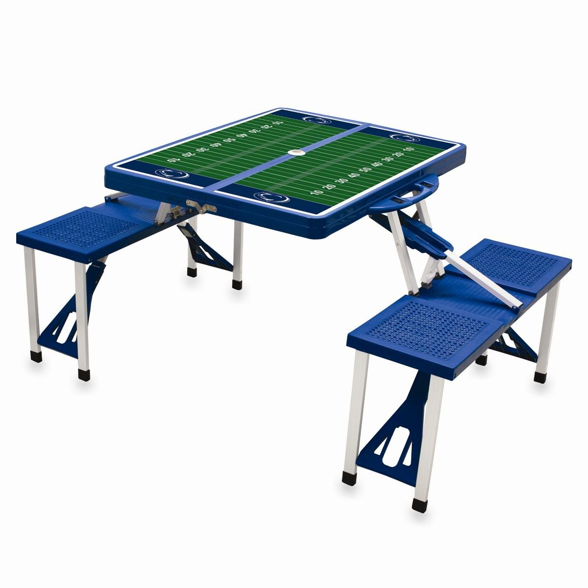 NCAA Penn State Nittany Lions Digital Print Picnic Table Sport, Blue, One Size