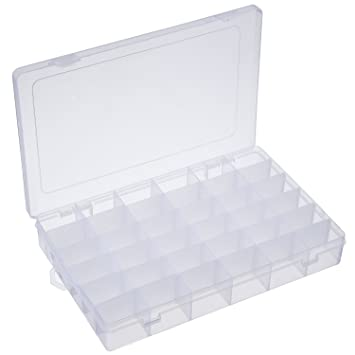 Amazoncom Outus 2 Pack 36 Grids Jewelry Dividers Box Organizer
