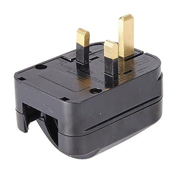 Silverline 206209 - Enchufe convertidor UE - GB (CEE 7/4, CEE 7/7): Amazon.es: Bricolaje y herramientas