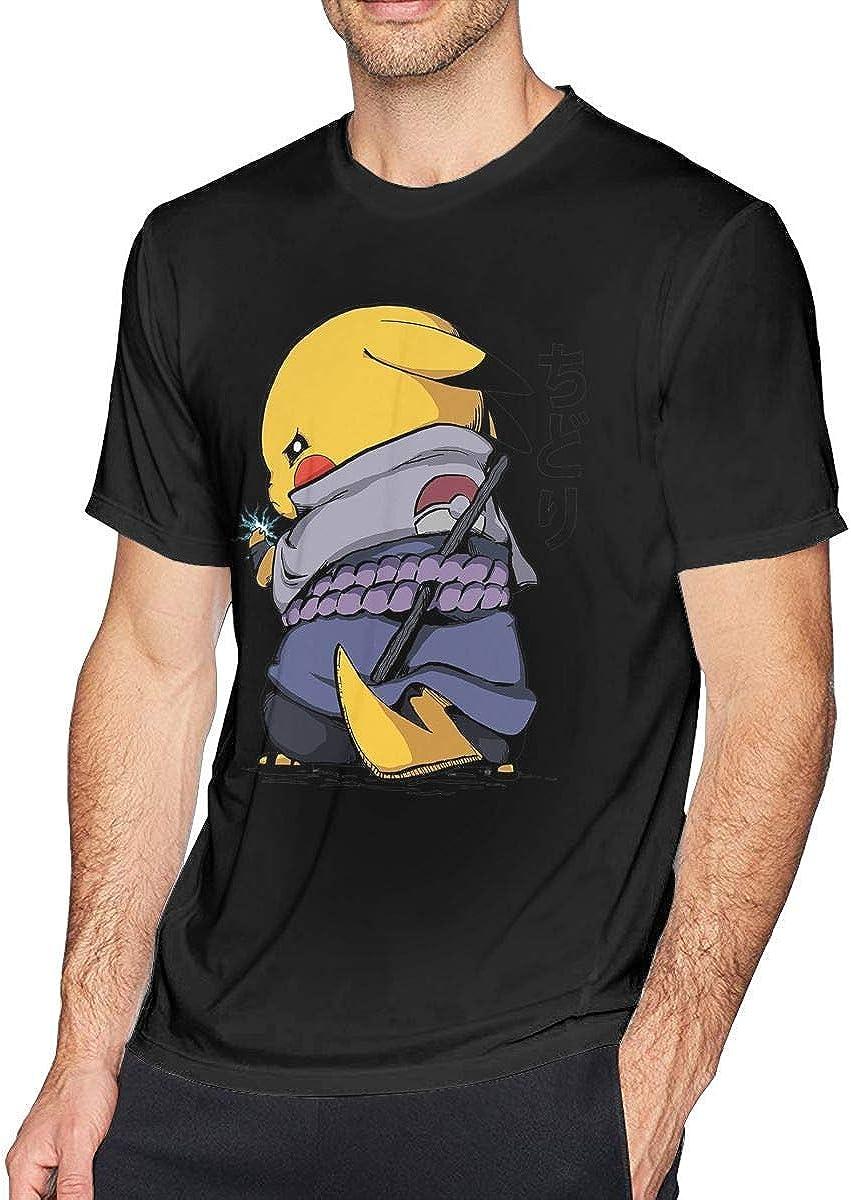 Pikachu Sasuke Naruto Chidori - Camiseta de manga corta para ...