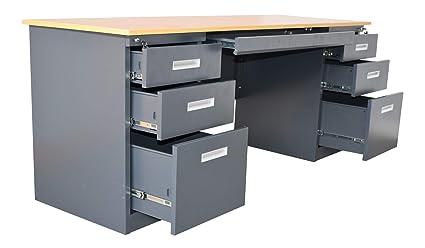 Credenza Con Serratura : Jet line e trade scrivania in metallo m con serratura