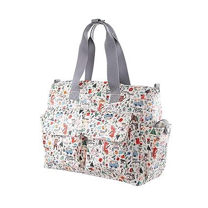 Mummy Bag Mommy Handbag Multifunción Mummy Bag Mamá Mochila Paquete de Viaje para la Madre y