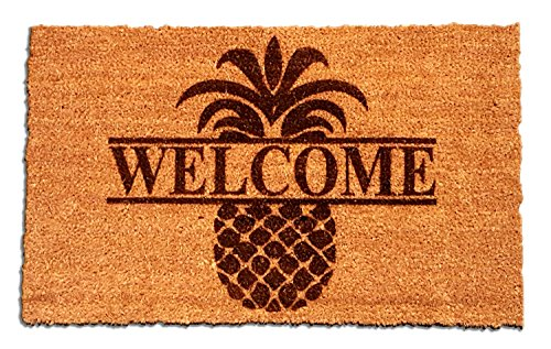 - Personalized [Your Name] Coir Fiber Laser Engraved Doormat 30
