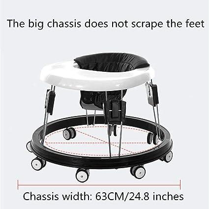 Amazon.com: Paseador ajustable para bebé, fácil de plegar ...