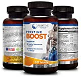 PRISTINE-FOODS–Natural-Testosterone-Booster–Male-Enhancement-High-Potency–Lean-Muscle-Growth-Libido-Performance-Energy-Stamina–Zinc-L-Arginine-Tongkat-Ali-Ginseng-Tribulus-NONGMO-USA-60-VegCap