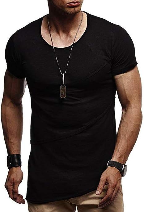 Mr.Macy Mens Baggy Cotton Linen Solid Color Short Sleeve Retro T Shirts Tops Blouse