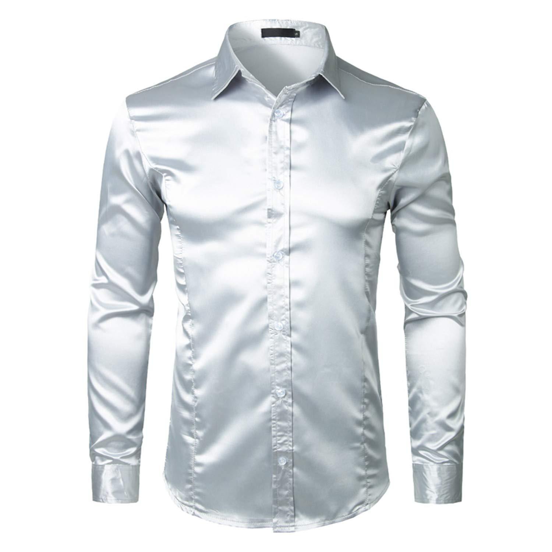 0b04c190 Light Blue Silk Dress Shirt Mens – EDGE Engineering and Consulting ...