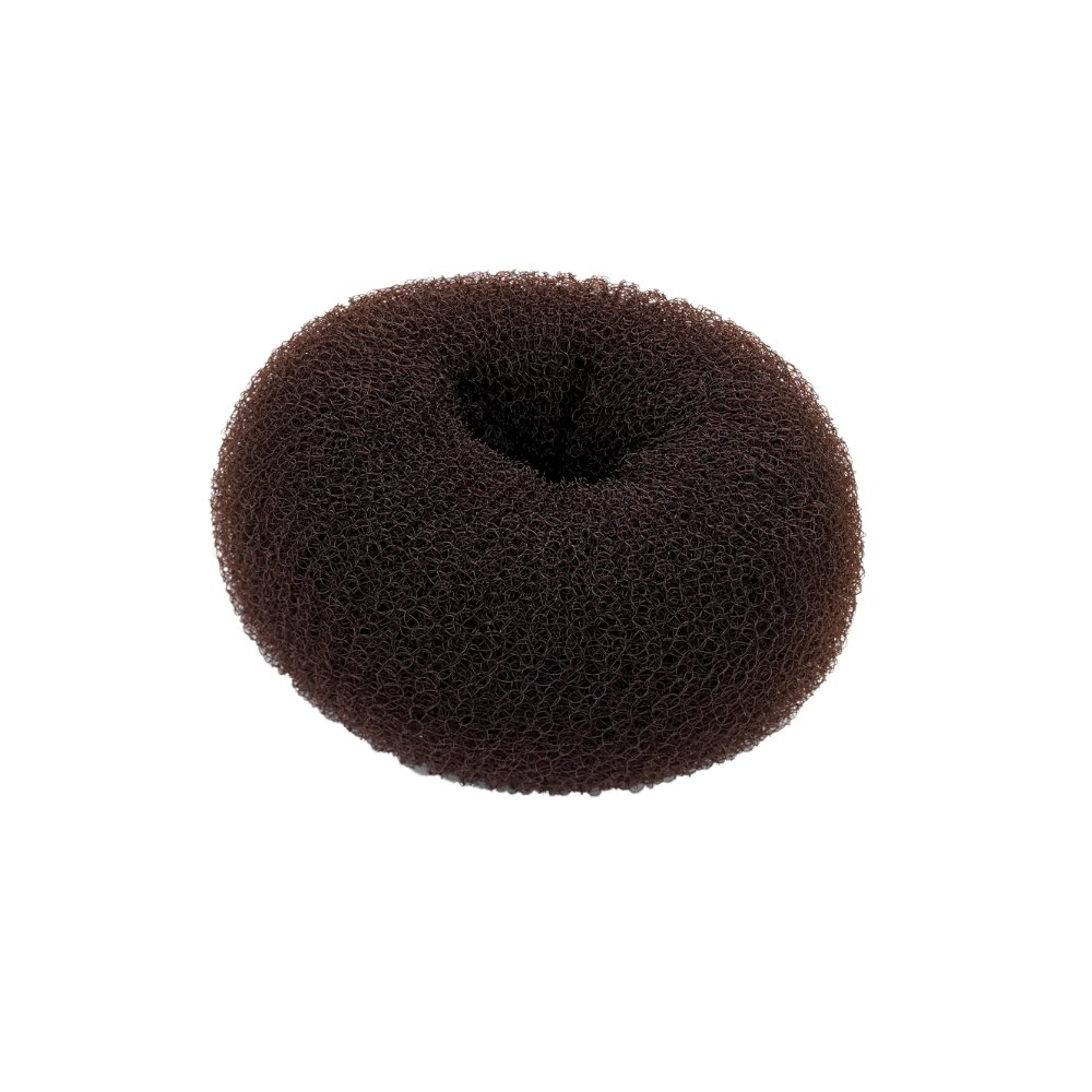 Small Brown Hair Bun Shaper Former Donut Ring Styler Pritties Accessories PRH09037