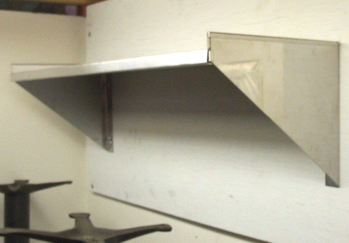 14'' x 60'' Stainless Steel Wall Shelf