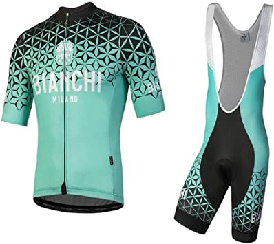 Men/'s Cycling Skinsuit Short Sleeves High Quality Padded One Piece Top Short Set