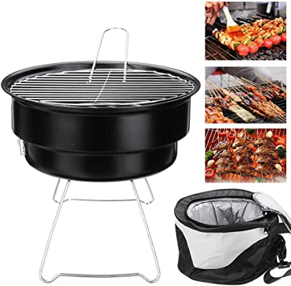 Camping Outdoor Garden Portable Barbecue Gas Grill And For