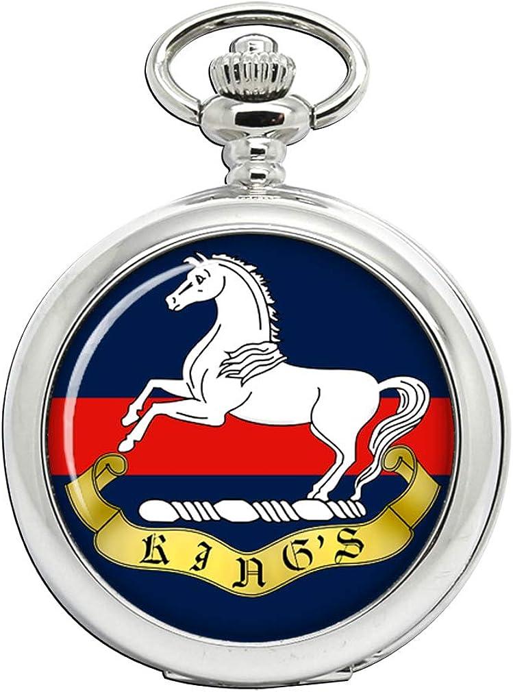 King'S Regiment Liverpool - Reloj de Bolsillo del ejército británico