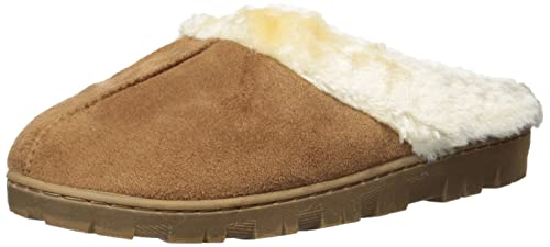 16d41dcc7e4 Best Music Posters Womens Faux Shearling Indoor Outdoor Slippers (Chestnut