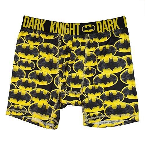 Bioworld Batman Boxers Batman Apparel Batman Underwear - Batman Mens Underwear Batman Clothing-Medium