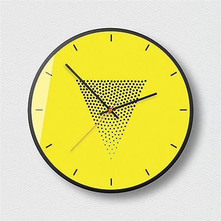 BBQBQ Reloj de Pared Grande, Reloj de Pared Mudo, Reloj de ...