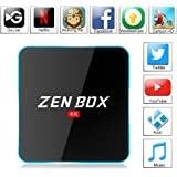 Zenoplige ZEN BOX Z2 4K アンドロイドTVボックス Fully Loaded Android 6.0 Amlogic S912 Cortex-A53 64bits KODI GoogleスマートTVチューナー(2G+16G)