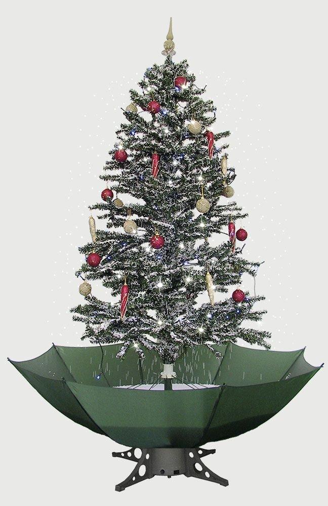 Tannenbaum Mit Schneefall.Künstlicher Weihnachtsbaum Mit Schneefall Test Weihnachtskitsch Mit