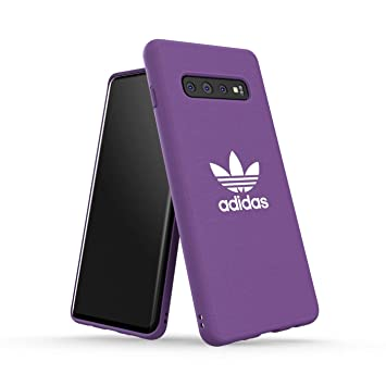 adidas Originals Funda Compatible con Samsung Galaxy S10 Plus Molded - Active Purple