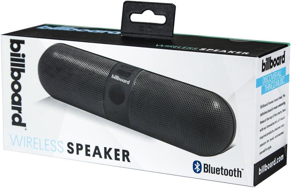 Billboard BB9 Large Pill Design Bluetooth Speaker Metallic black