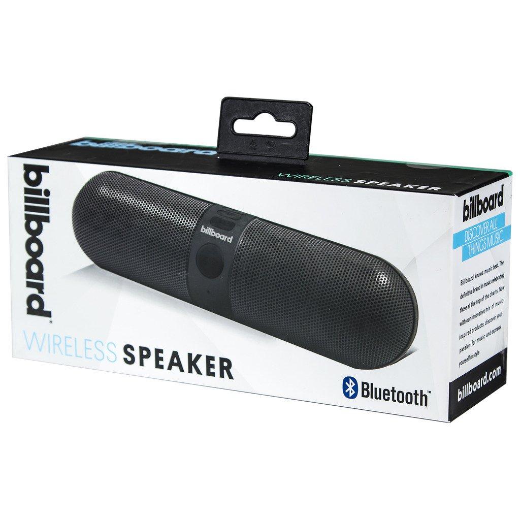 Billboard Bluetooth Wireless Speaker With Enhanced Bass, TF Card and USB  Flash Drive Slots - Black