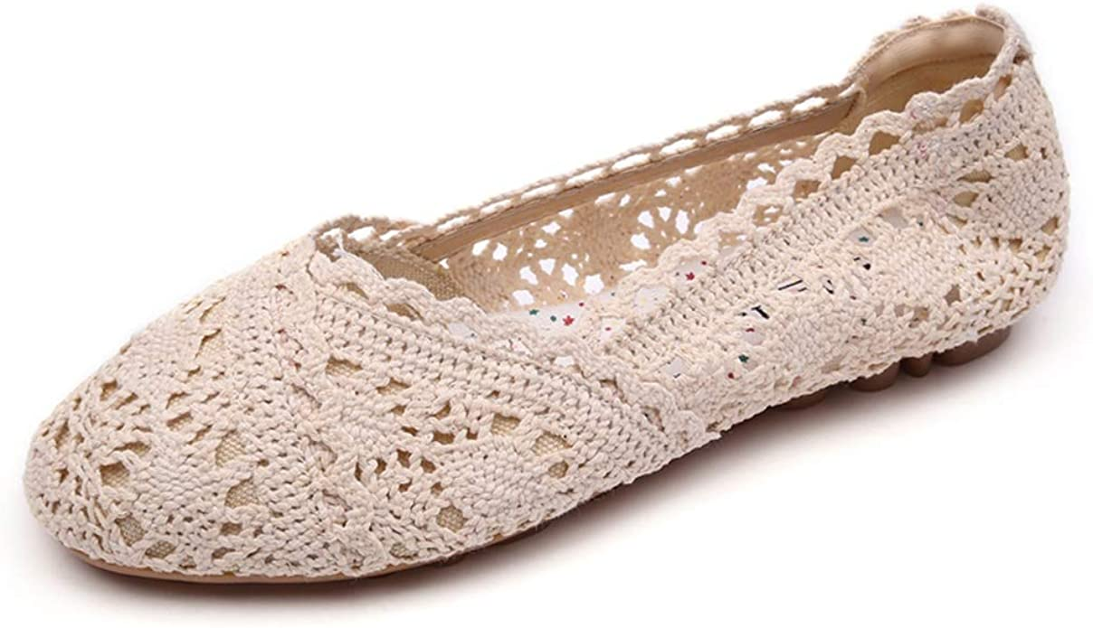 Meeshine Women's Ballet Shoes Lace
