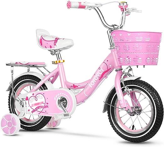BAICHEN Bicicletas para niños Ruedas de 12-14-16-18 Pulgadas ...