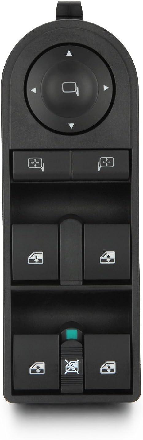 Flyn 13228699 Fensterheberschalter Schalter Fensterschalter Fenster Knopfschalter Fensterheber Schaltelement Für Astra Zafira 2005 2014 Auto