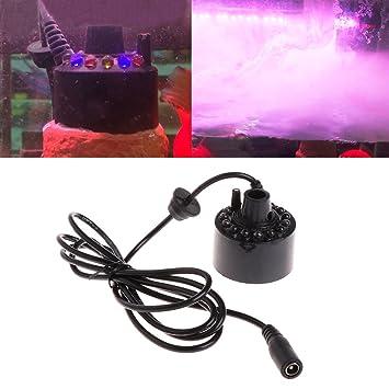 Mini Mist Maker Nebler Ultraschall Vernebler Luftbefeuchter für Zimmerbrunnen EU