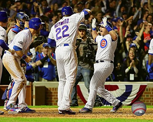 "Miguel Montero Chicago Cubs 2016 NLCS Game 1 Grand Slam Photo (Size: 16"" x 20"")"