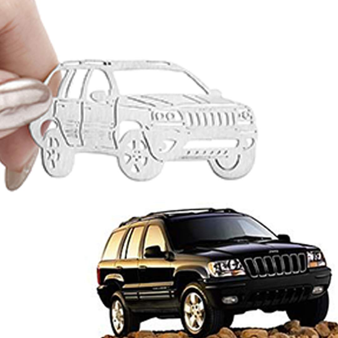 Idea and Collection for Grand Cherokee Fans Lovers AMFRNE Special for Jeep Grand Cherokee Stainless Steel Keychain Grand Cherokee Accessories