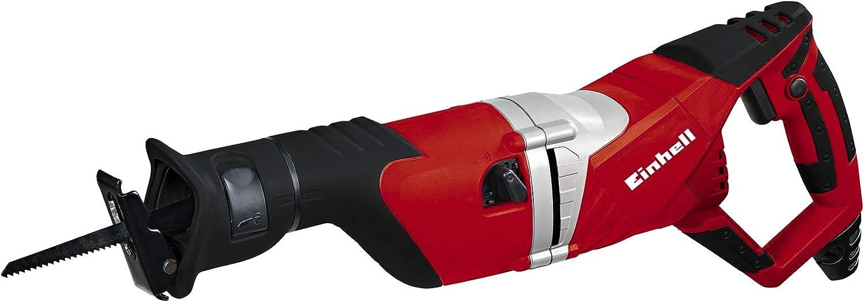 Einhell RT-AP 1050 E - Sierra sable universal, 2700 cortes/min, 1050 W, 230 V, color rojo y negro