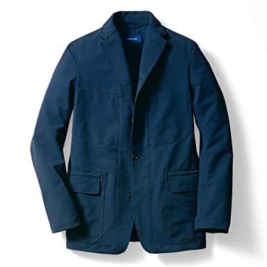Sage de Cret MoveFit Washable Stretch Jacket: Navy