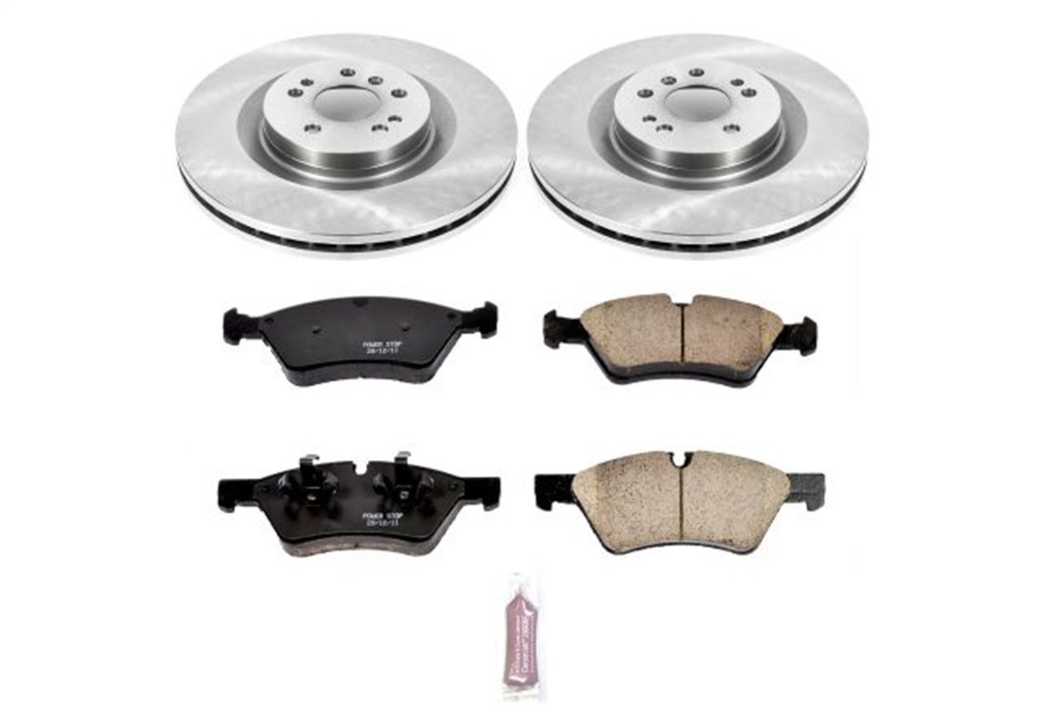Autospecialty KOE6706 Daily Driver 1-Click OE Replacement Front Brake Kit Power Stop