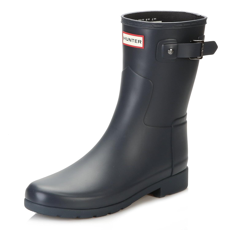 Hunter Original Refined Short Navy Women's Boots