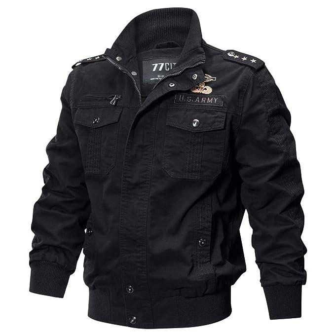VonVonCo Camisetas Polo Militar De Invierno para Hombres Bolsillo Tactical Outwear Cashmere Engrosado (XXL,