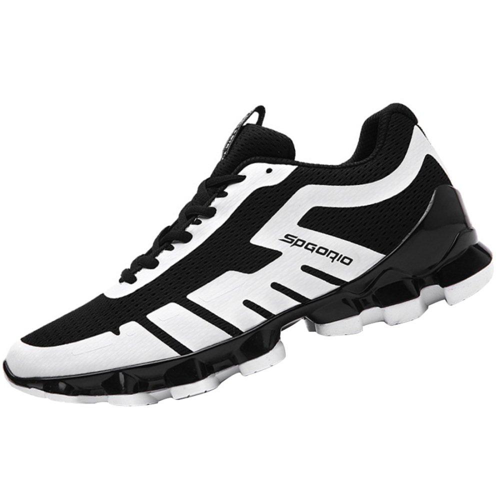 Zapatos Corrientes De Malla Transpirable Para Hombre Zapatos De Senderismo Zapatos Ligeros Antideslizantes Que Absorben Los Golpes 42EU|4
