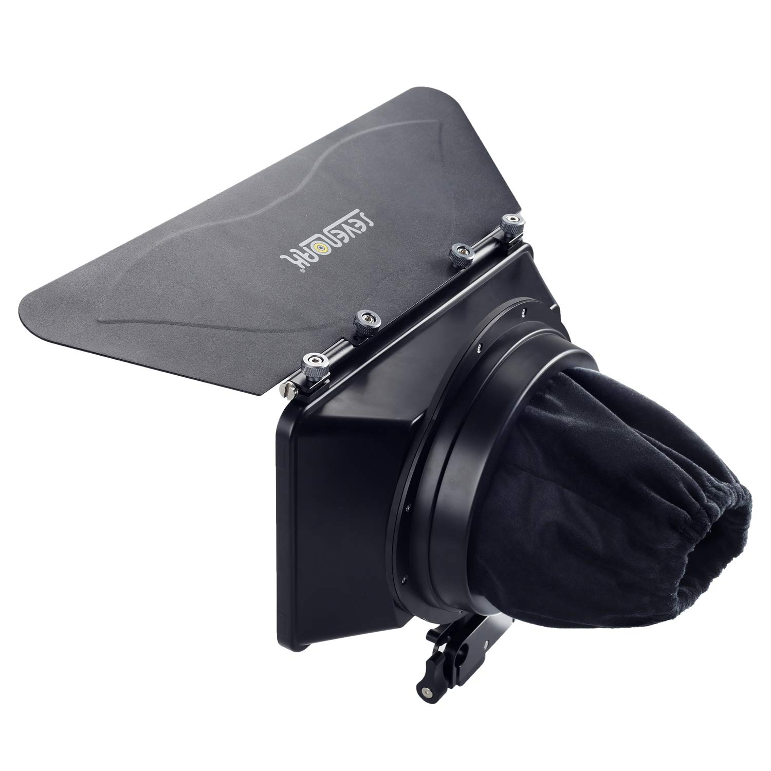 Sevenoak SK-MB1 Lightweight Matte Box with French Flag & Universal Anti-Reflection Donut (for 15mm Rod System) for DSLR BlackMagic Pocket Cinema Panasonic GH4 Camcorders Micro Film Making System