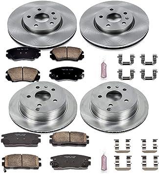 Daily Driver OE Brake Kit Rear Power Stop Autospecialty KOE5578