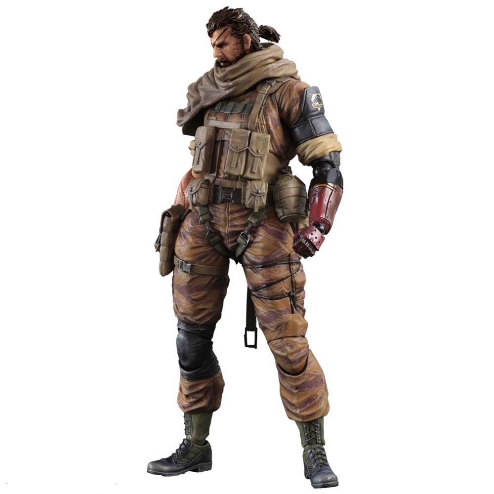 Square Enix [Amazon.co.jp Limited] Metal Gear Solid V Phantom Pain Play Arts Kai Venom Snake Gold Tiger ver. PVC