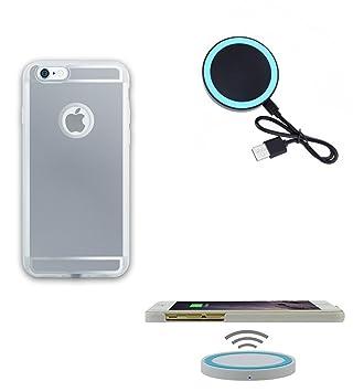 Kit 2 en 1 para carga Qi y cargador inalámbrico para iPhone ...